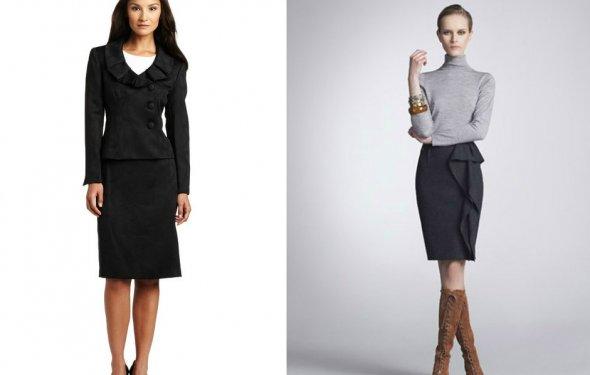 Деловой стиль в одежде для