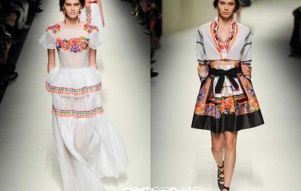 этнический стиль в одежде 2014