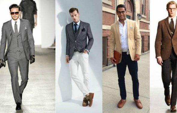 Классический стиль в мужской