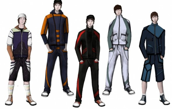 одежда спортивного стиля