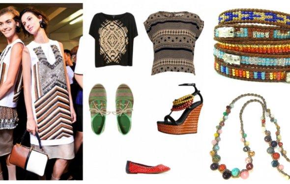 Африканский стиль в одежде и