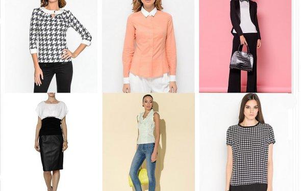 БЛУЗЫ модный деловой стиль