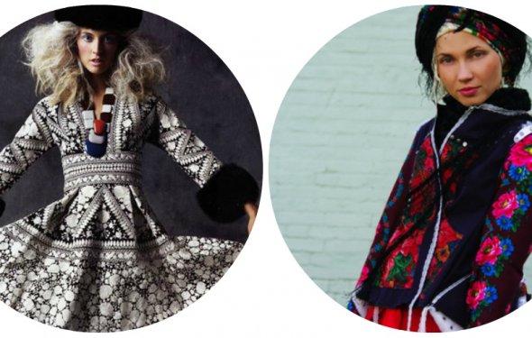 Фольклорный стиль одежды