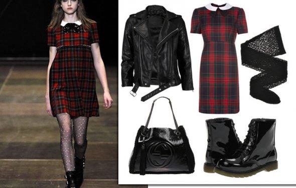 школьный модный стиль одежды