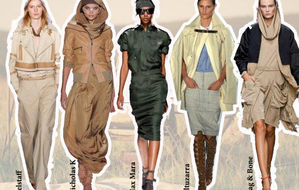 модные бренды 2013 сафари