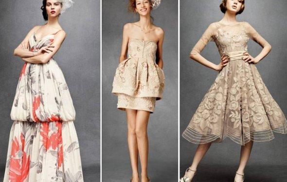Ретро платья, три модели