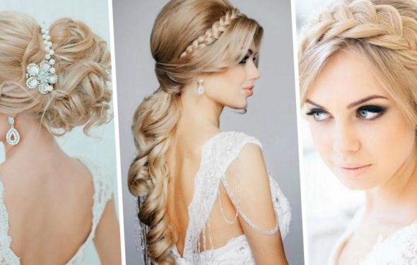 Модные свадебные причёски